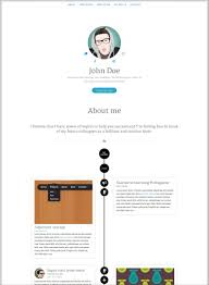 online resume portfolio examples examples of resumes clean resume template simple cv html for 81