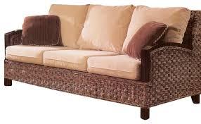 wicker sleeper sofa best rattan sleeper sofa pictures liltigertoo com pertaining to
