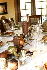 Thanksgiving Table Setting Ideas by Dining Room Extraordinary Design Ideas Using White Red Flowers