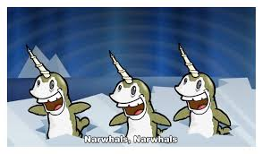 sprint narwhal commercial narwhals narwhals causing a