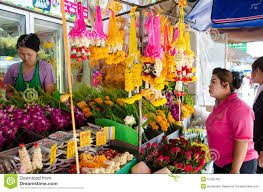 local flower shops huahin thailand local flower shop editorial stock photo image