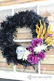 halloween wreath diy dollar store halloween wreath down home inspiration