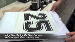 design your own motocross jersey applying digicut vinyl to sports jerseys youtube