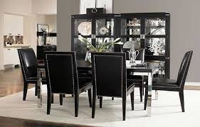 Interesting Black Dining Room Sets Setsdining Roomsblack M To - Black dining room sets