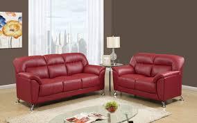 Red Loveseat U9102 Sofa U0026 Loveseat In Red Pvc By Global W Options