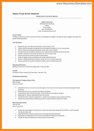 Truck Driving Resume Samples by 8 Truck Driver Resume Examples Graphic Resume