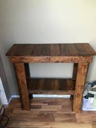 Pallet Console Table 15 Inspired Pallet Ideas For Your Home