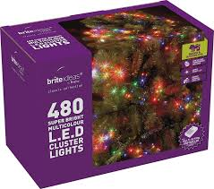 Led Cluster Lights Brite Ideas Festive Productions Cluster 480 Led Lights White