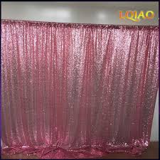 party backdrops 10x10ft pink gold chagne sequin fabric backdrop wedding photo