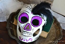 Skeleton Mask 20 Crafty Days Of Halloween Skeleton Mask See Vanessa Craft