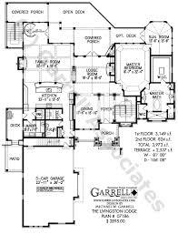 1 Bedroom 1 1 2 Bath House Plans Livingston Lodge House Plan House Plans By Garrell Associates Inc