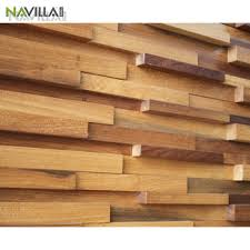 cheap 3d decorative solid wood wall panel sheet for interior use