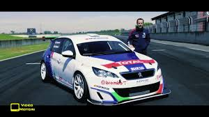 peugeot 308 touring peugeot 308 racing cup youtube