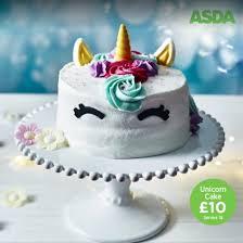 Asda Halloween Cakes Asda Unicorn Birthday Cake Popsugar Uk Food