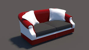 sofa high poly house 3d cgtrader