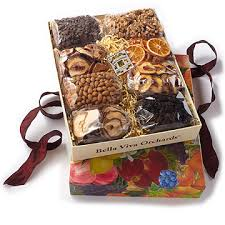 nuts gift basket california organic gift basket 5 lb organic dried fruit nuts