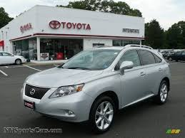 lexus for sale rx 350 2010 lexus rx 350 awd in tungsten silver pearl 039627