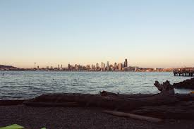 Alki Beach Trail West Seattle by La Catrina De La Moda Out And About Seattle Travel Day One