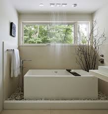 river rock bathroom ideas how to use river rock tile in bathroom design 19 great ideas
