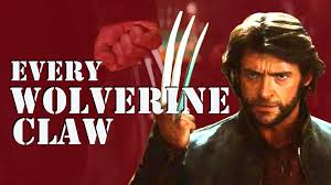 wolverine s claws every wolverine claw snikt supercut