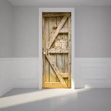 adesivi porta 77x200 cm pericolosi porta in legno adesivi ristrutturazione di