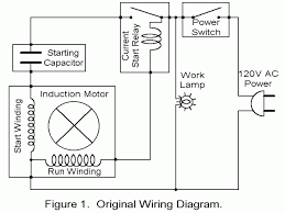 charming capacitor run motor wiring diagram photos wiring