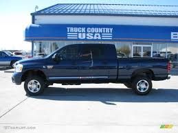 Dodge 3500 Truck Colors - 2008 patriot blue pearl dodge ram 3500 laramie mega cab 4x4