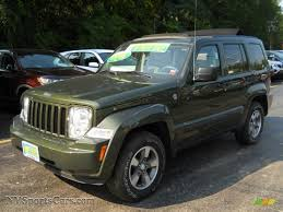jeep dark green 2008 jeep liberty sport 4x4 in jeep green metallic 214353