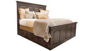 larchmont king storage bed by gallery furniture