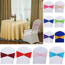 Spandex Chair Bands Lycra Chair Bands Other Wedding Supplies Ebay