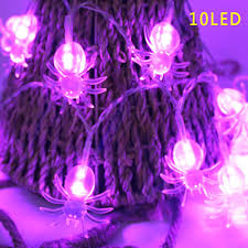 halloween purple led string lights halloween led string lights ghost spiders skeleton window decor