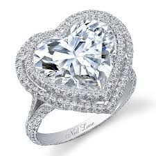 heart shaped wedding rings heart shaped engagement rings brides