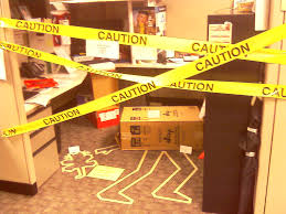halloween scene setters cube decorating contest in the office happy halloween crime