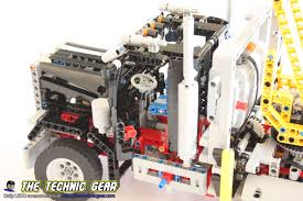 lego technic truck lego technic 9397 logging truck review lego reviews u0026 videos