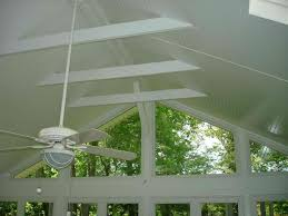 feeling blue take a look at our beautiful screened porch ceiling