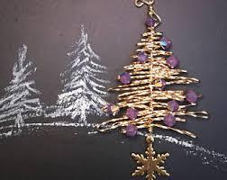 mini tree ornaments etsy