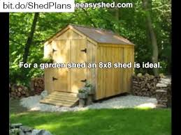 10 x 10 shed plans free youtube