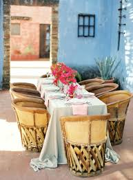 Mexican Patio Furniture by Best 20 Southwestern Outdoor Dining Tables Ideas On Pinterest