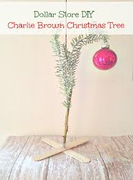 dollar store diy brown tree brown