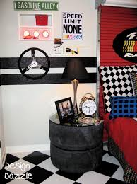Ideas For Car Themed Boys Rooms Boys Room Design Nightstands - Boys car bedroom ideas