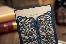 customized wedding invitations laser cut hollow customized wedding invitation card