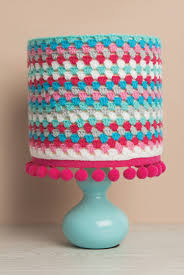 Home Decor Patterns Free Crochet Lampshade Pattern Sewandso