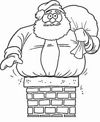stylish and stunning santa claus coloring pages regarding