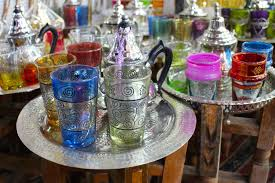 Moroccan Art History by Moroccan Traditional Tea Cups Marrakesh Souq 000044602754 Full Jpg