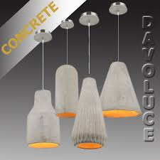 pendant lights au ikon concrete pendant light from davoluce lighting