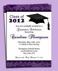 You Are Invited Card Invitation Card For Graduation Party Sample Invitation Card For