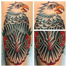 Rebel Flag Eagle Tattoo 95 Bald Eagle With American Flag Tattoos U0026 Designs With Meanings