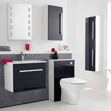 ultra high gloss black furniture pack at victorian plumbing uk