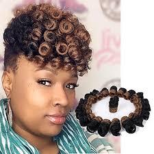 crochet braids hair bouncy curl crochet braids 10inch kenzie curl kanekalon braiding