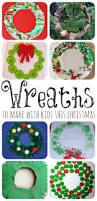 christmas wreaths to make with kids